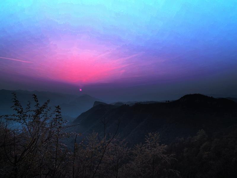驼腰作品:战地残阳