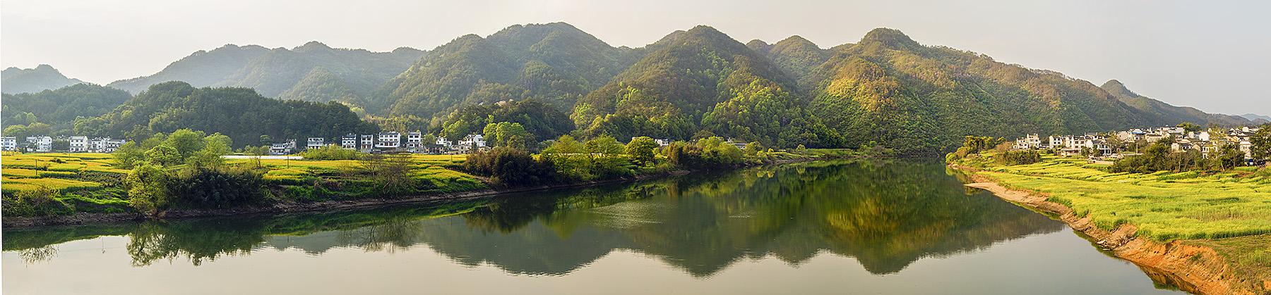 钟乳石作品:新安江畔
