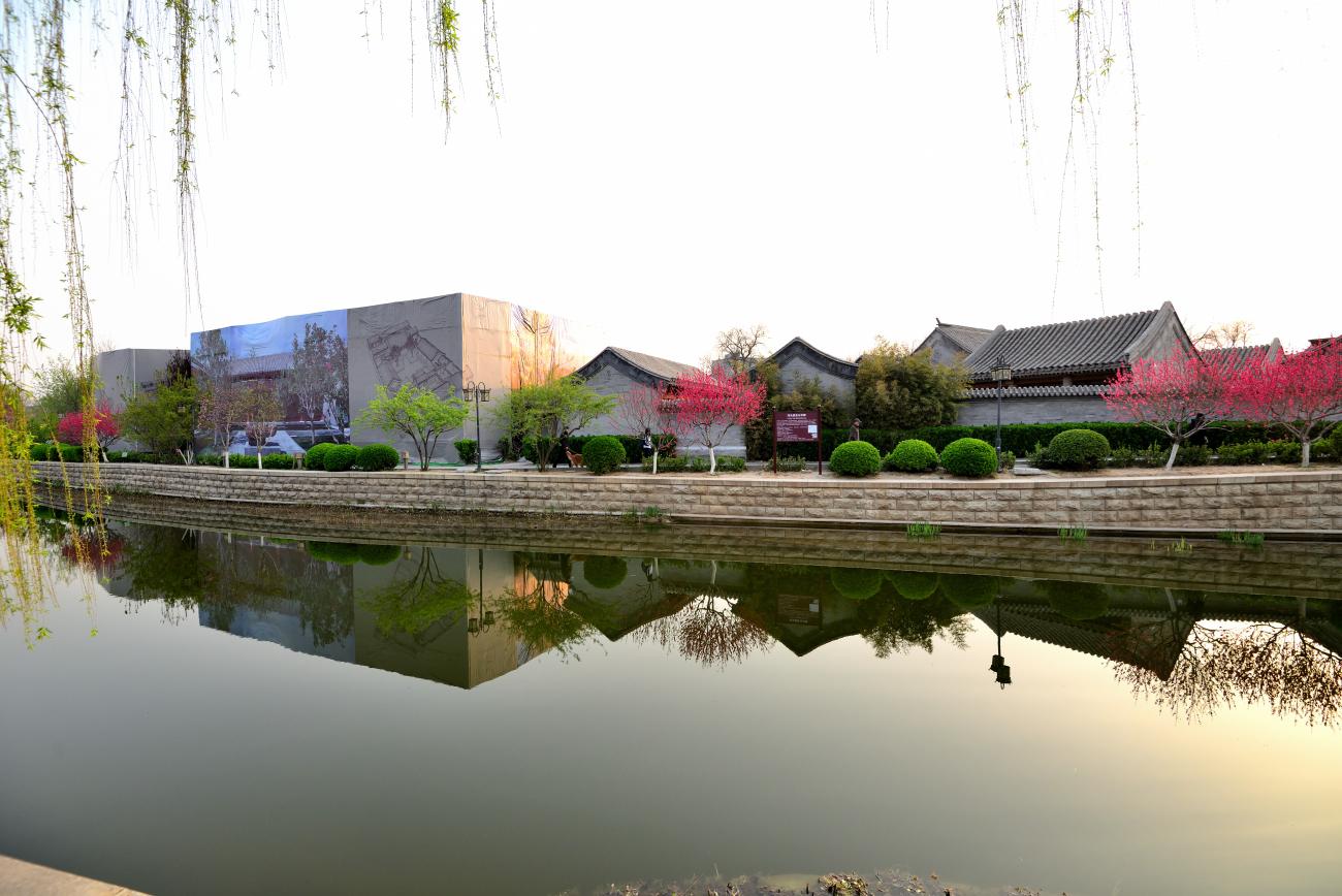 二郎山客作品:京杭大运河北京终点