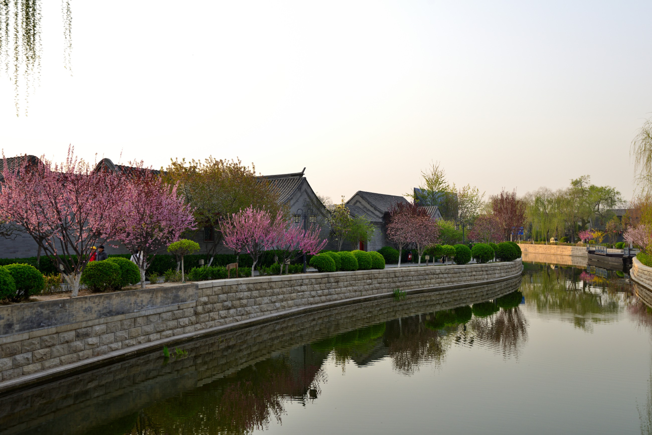 二郎山客作品:北京玉河遗址