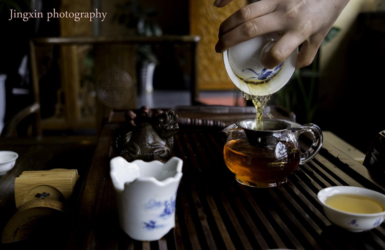 境空明道作品:禅茶一味
