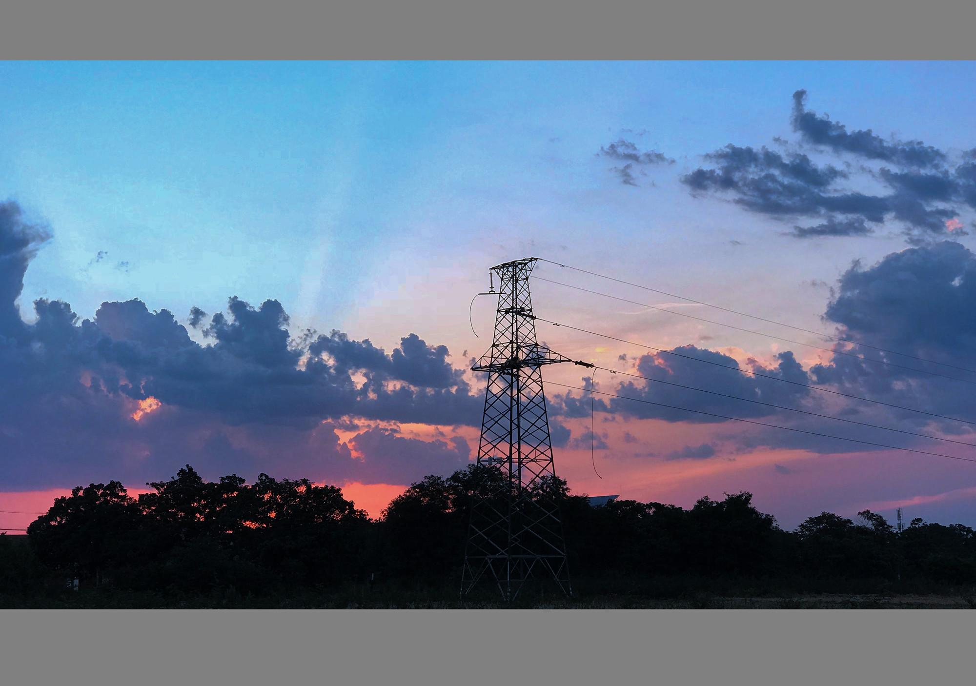 羽佳518作品:手机片--夕阳
