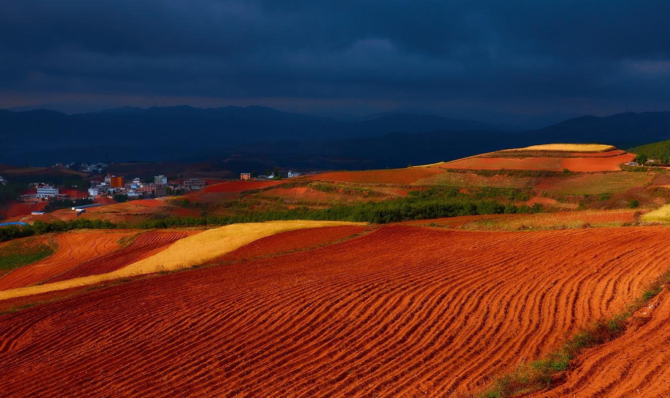 李达明作品:红土大地