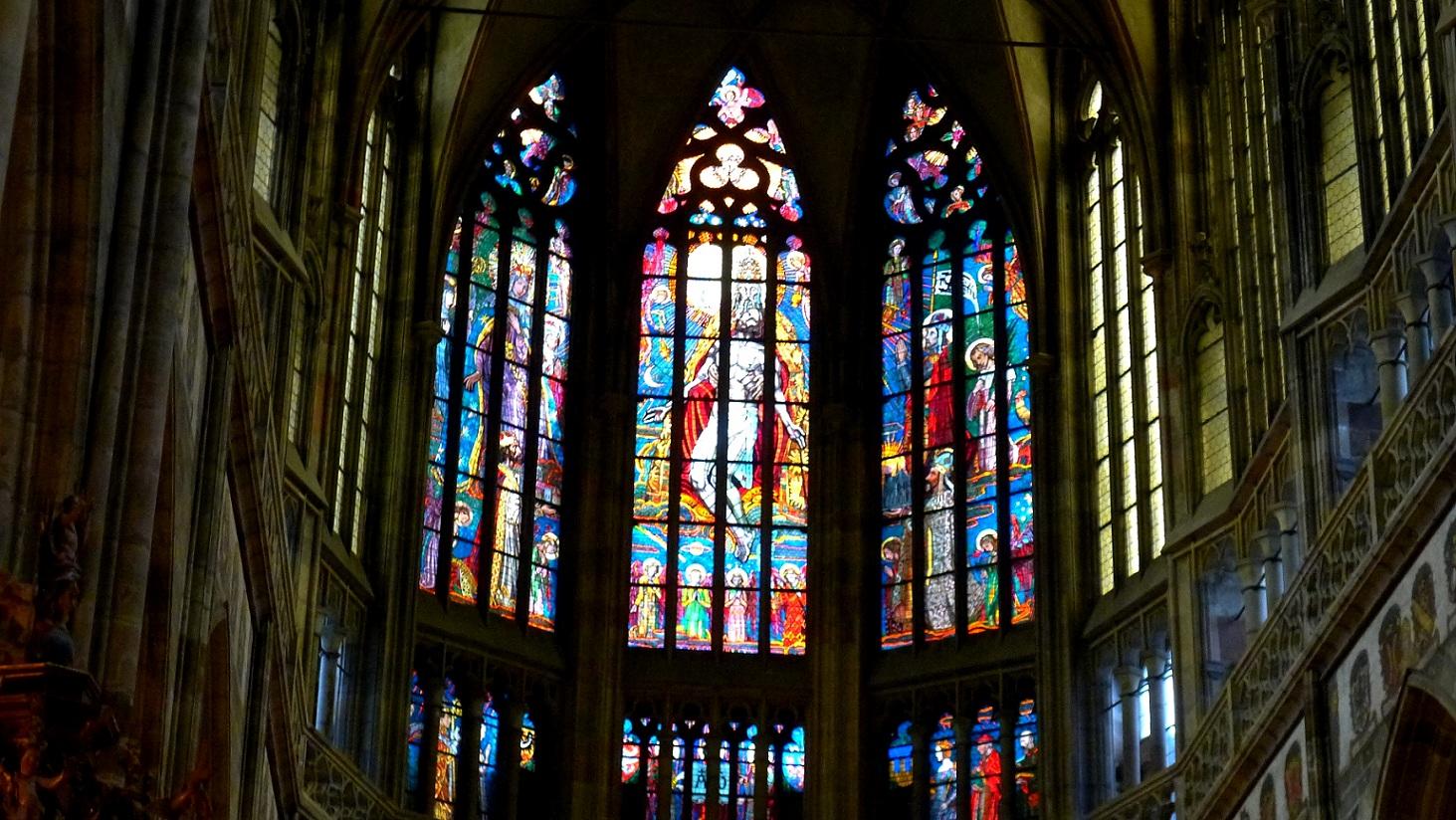 蓝桥摄影作品:教堂