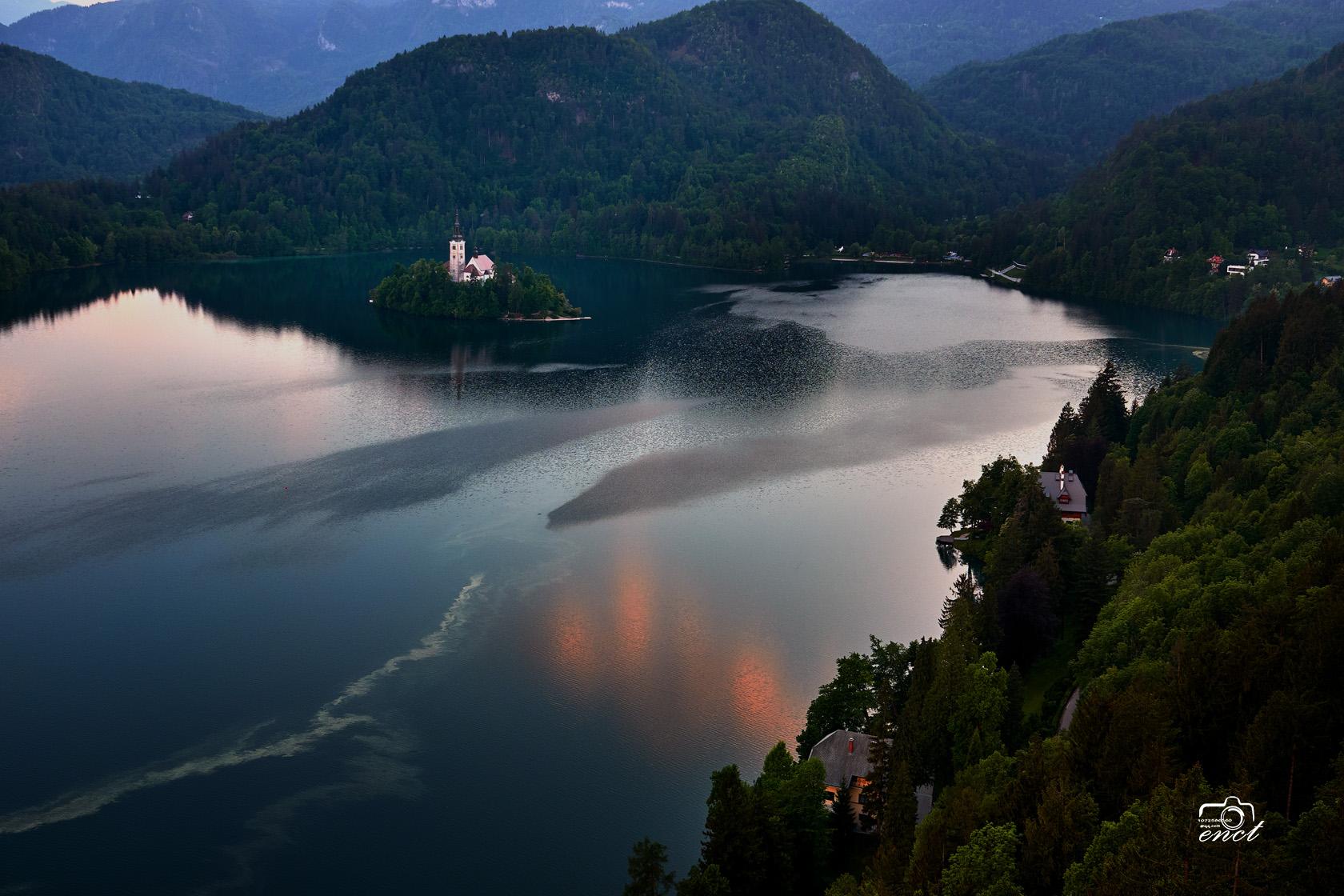 enct作品:欧洲之眼布莱德湖
