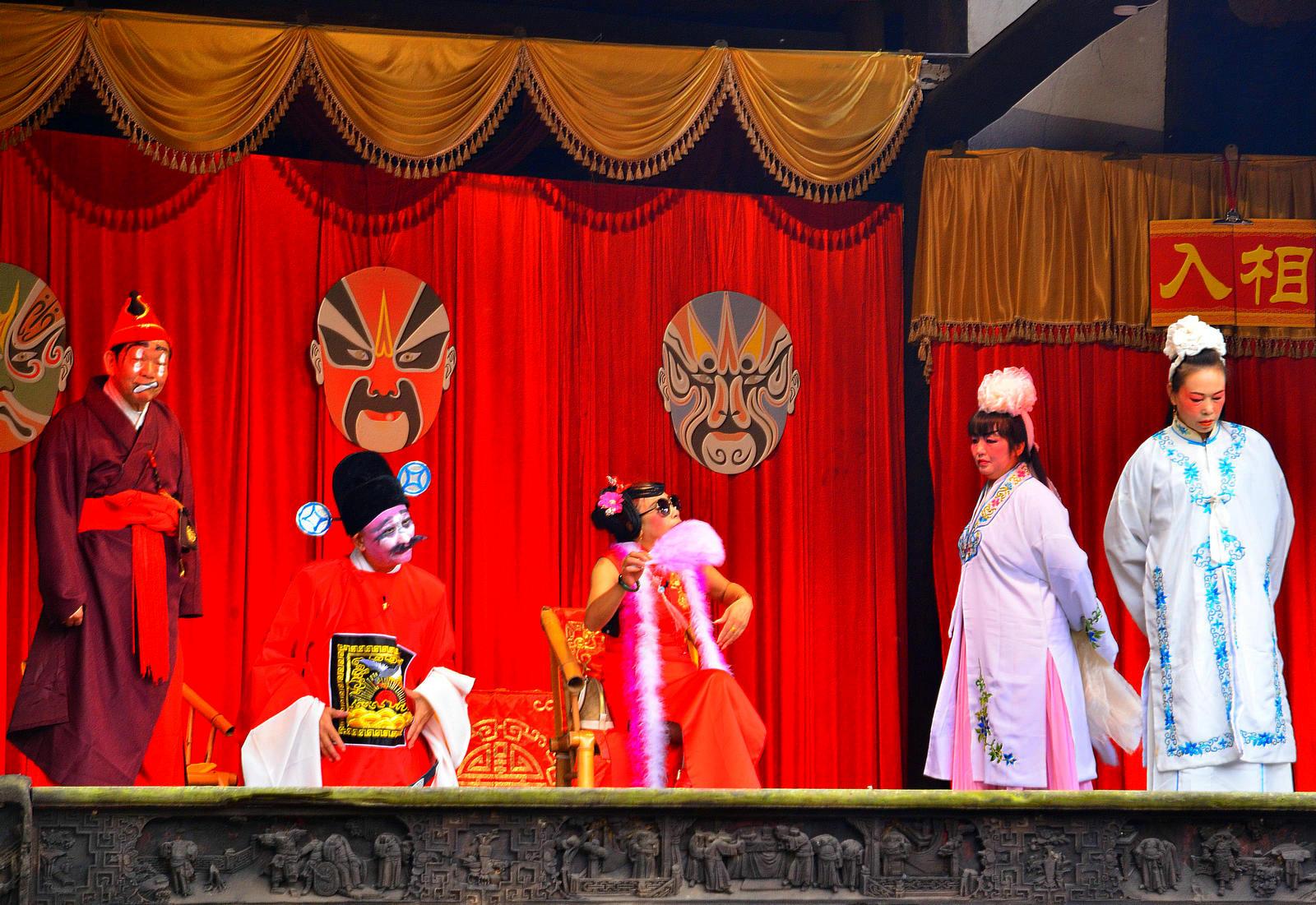 狮子123作品:戏楼寻踪看川剧