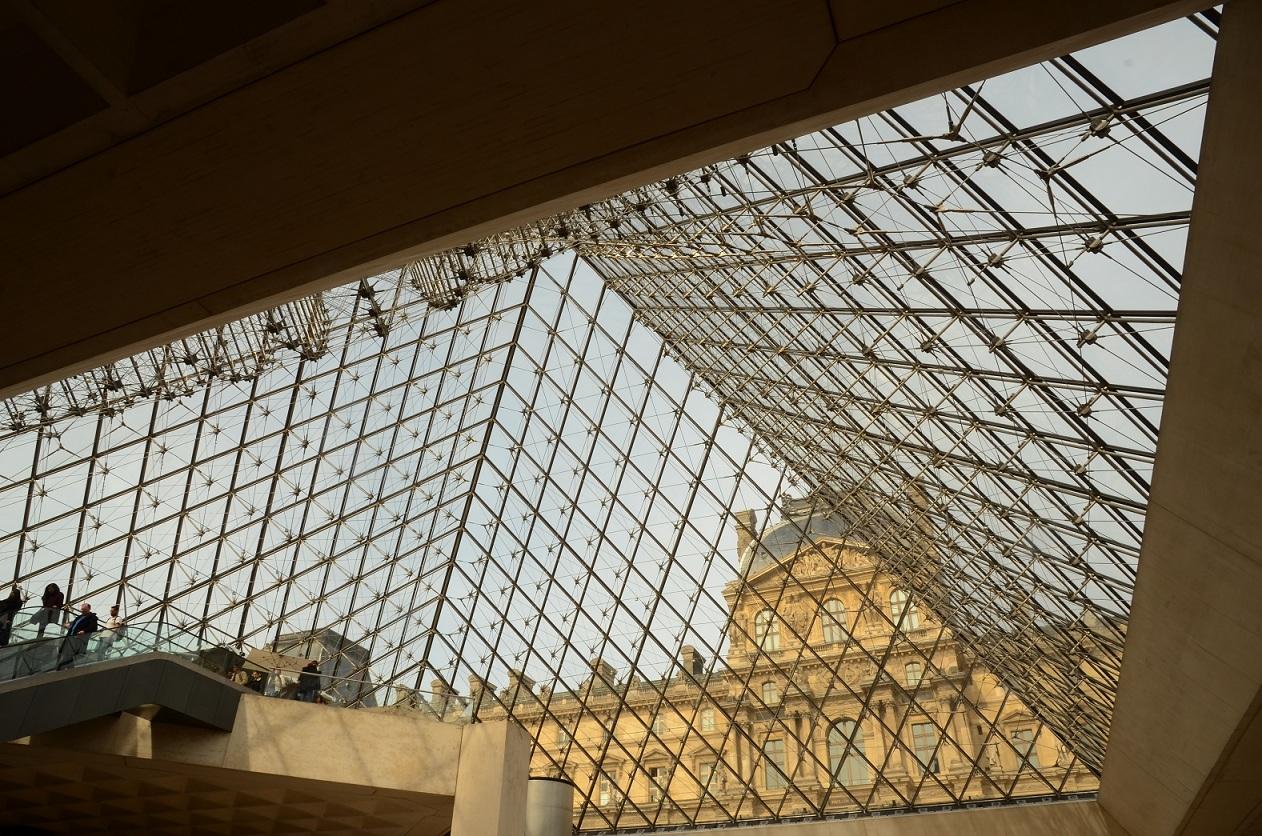 蓝桥摄影作品:几何图