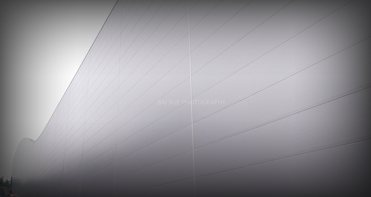 白雪摄影作品:《建筑的线条》