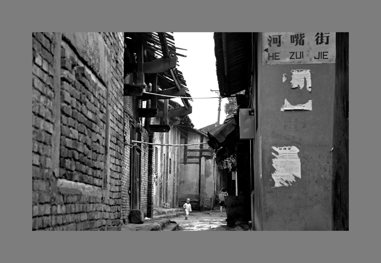 狮子123作品:古镇的命运