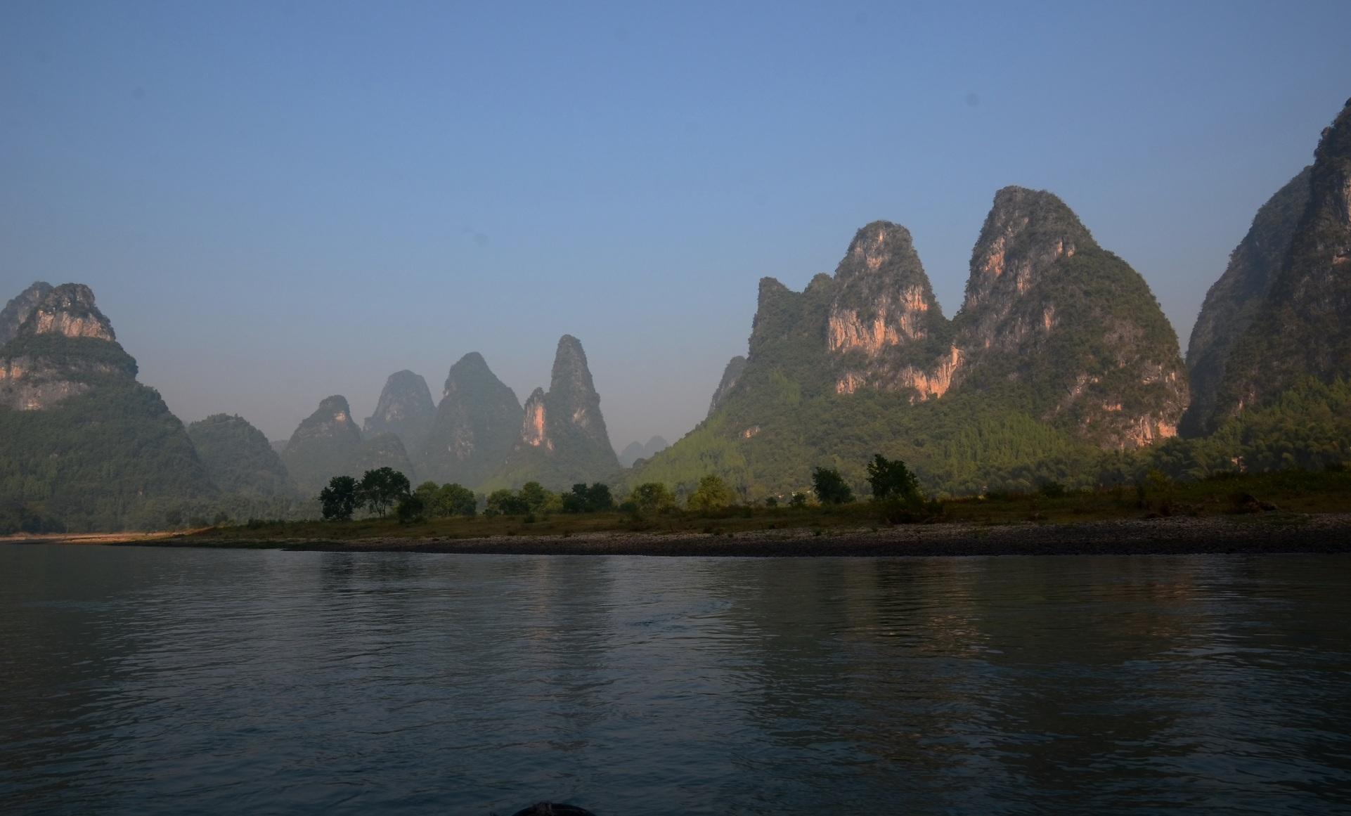 蓝桥摄影作品:漓江