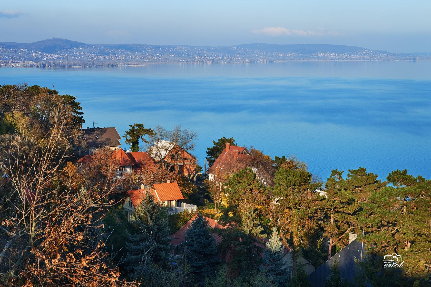 enct作品:匈牙利巴拉顿湖风光