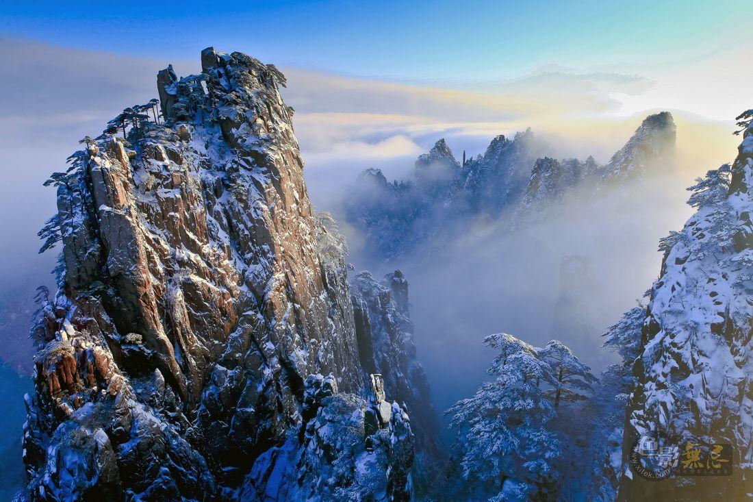nanqzhen作品:黄山雪后