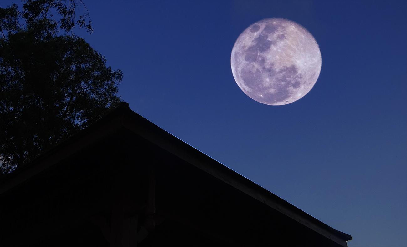 奥巴牛作品:元宵超级月