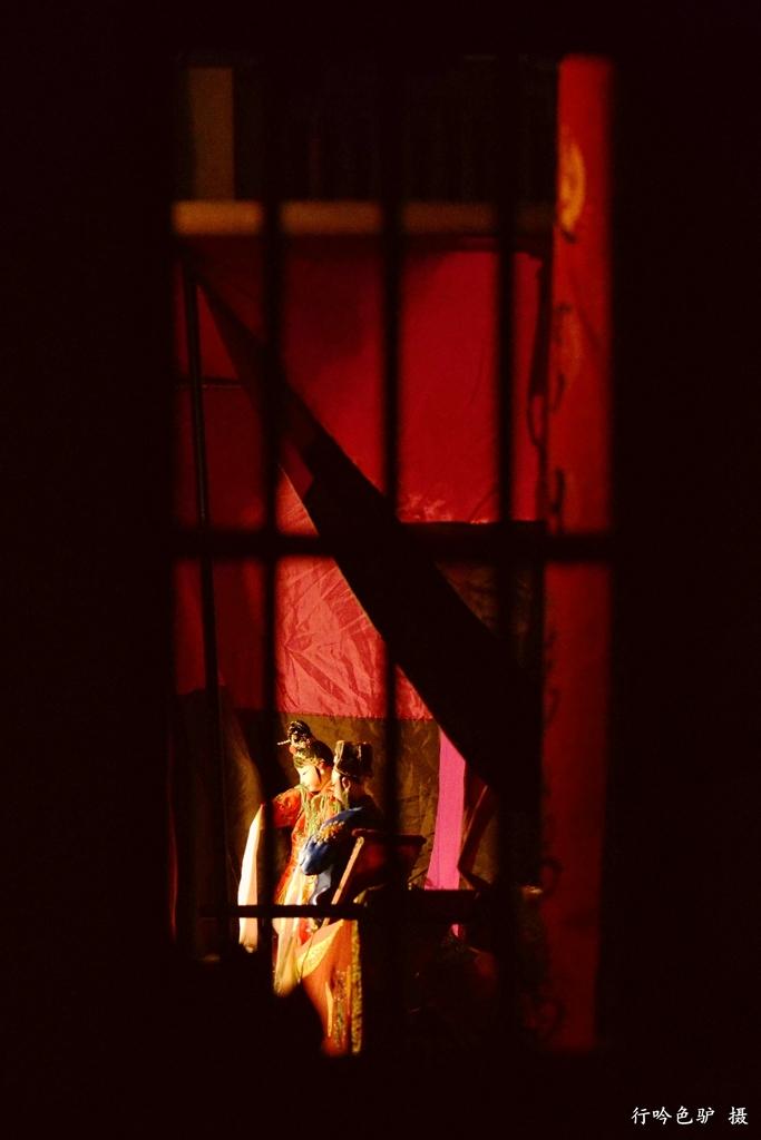 行吟色驴作品:西窗夜话
