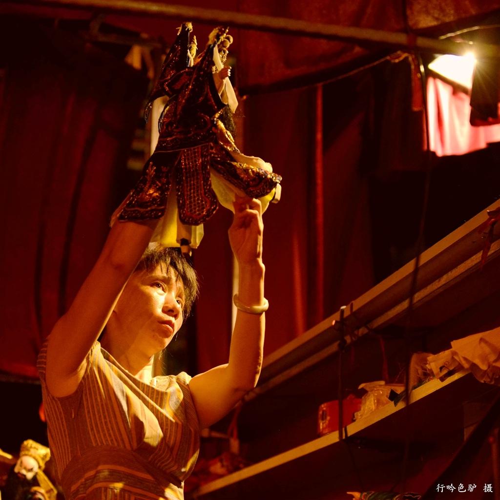 行吟色驴作品:惠安布袋戏·闹花灯6