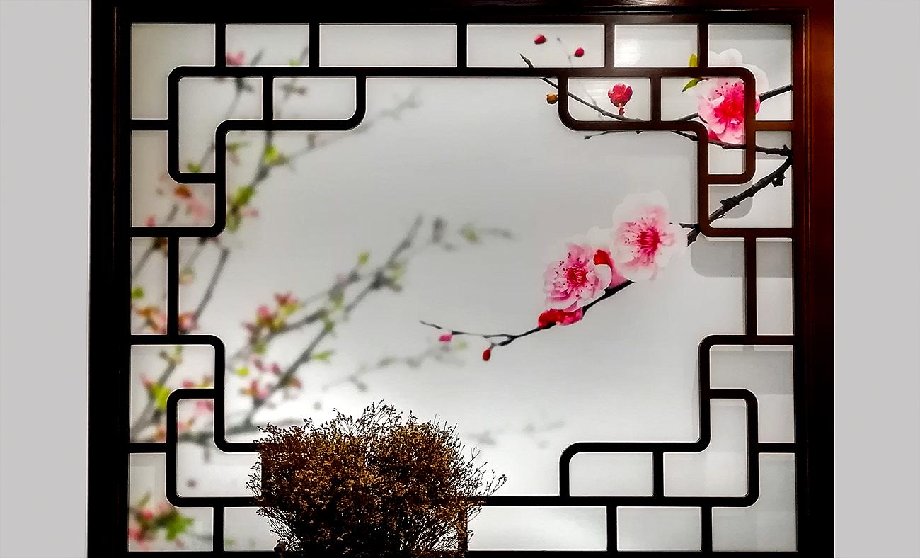 奥巴牛作品:窗(二)
