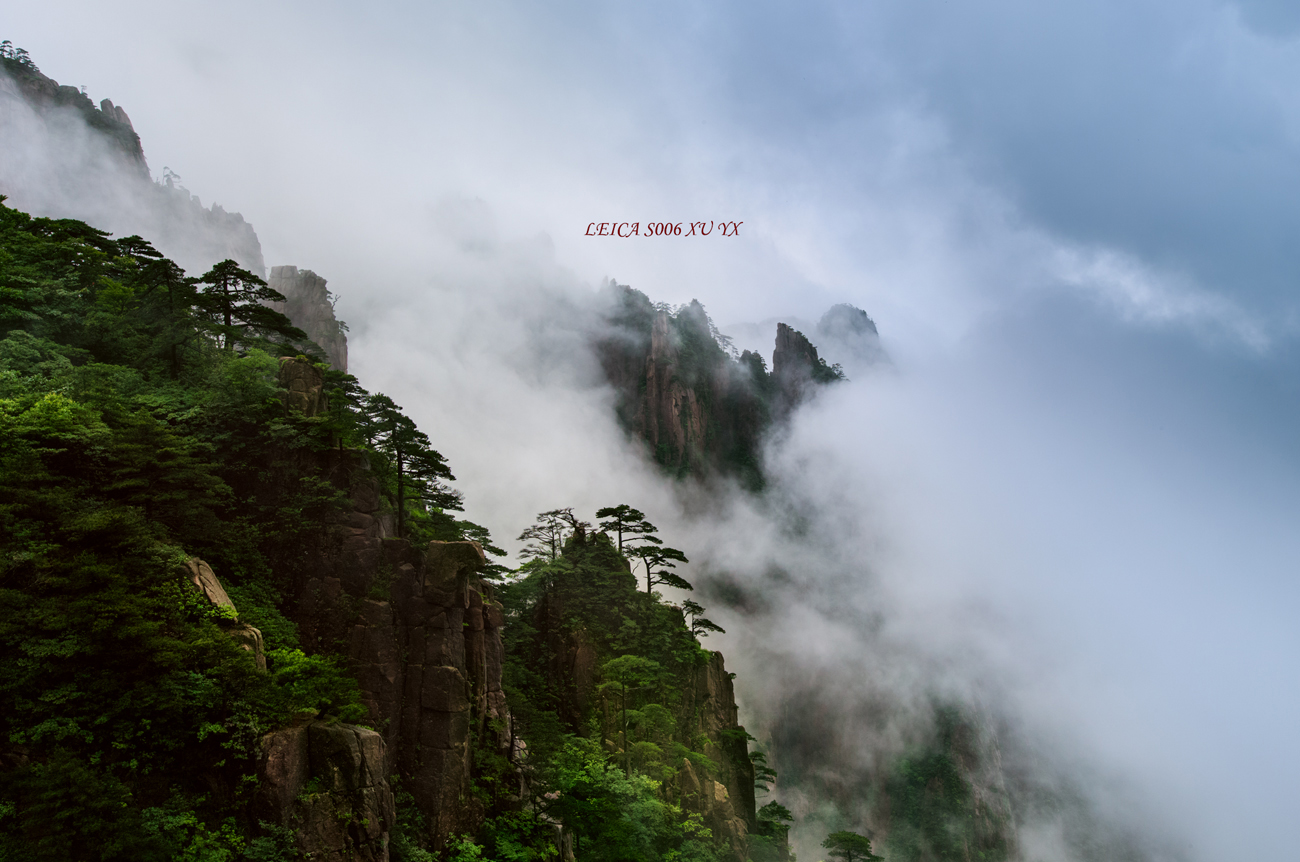 xuliangshey作品:云水黄山