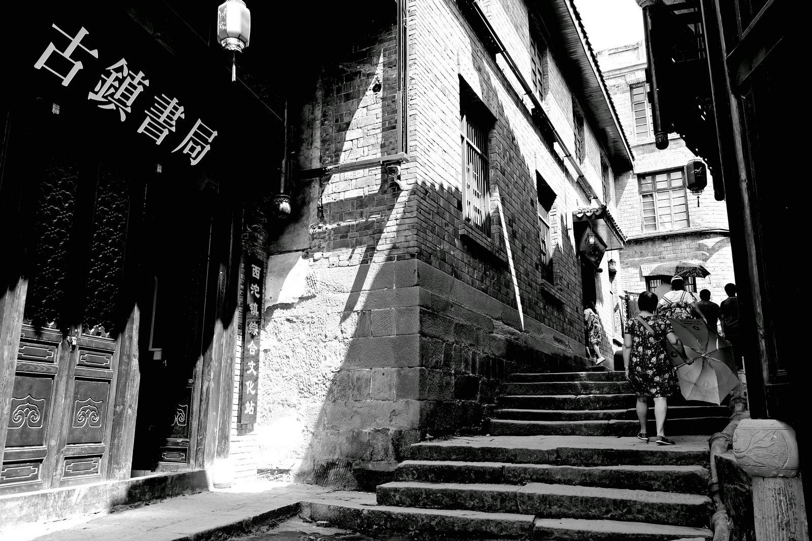 狮子123作品:万里长江第一街