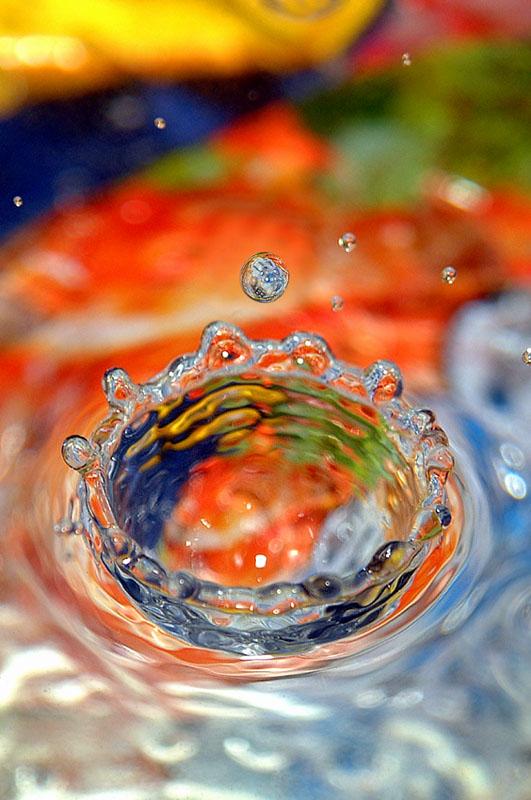 元素作品:水之王冠
