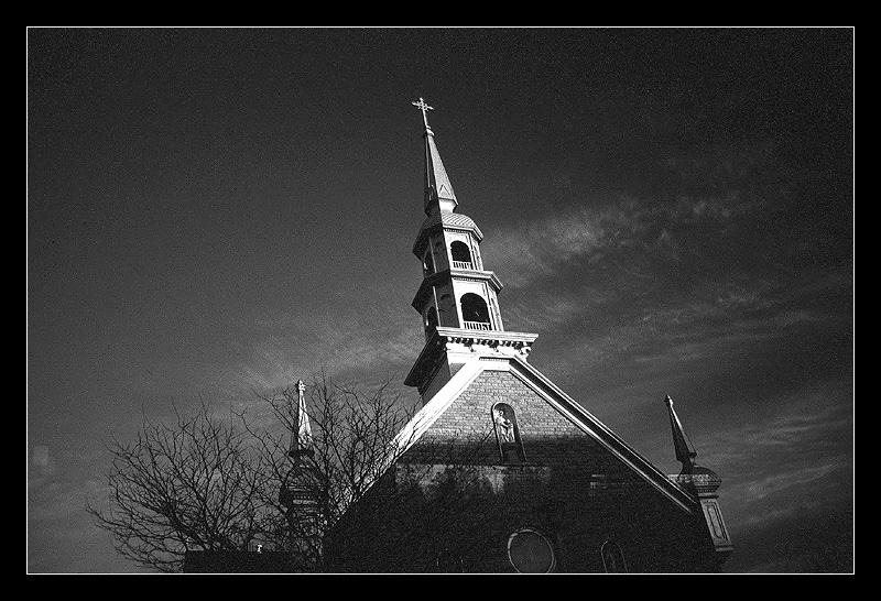 城市乡巴佬作品:教堂