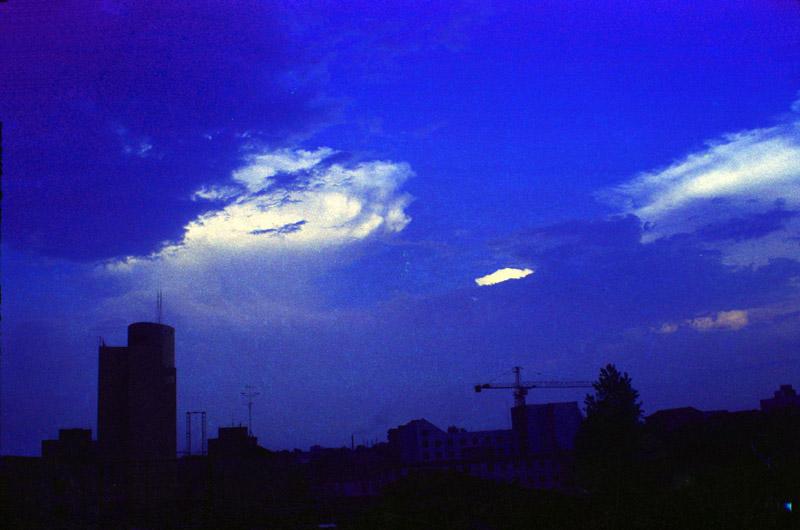 hywl2003作品:城市暮色
