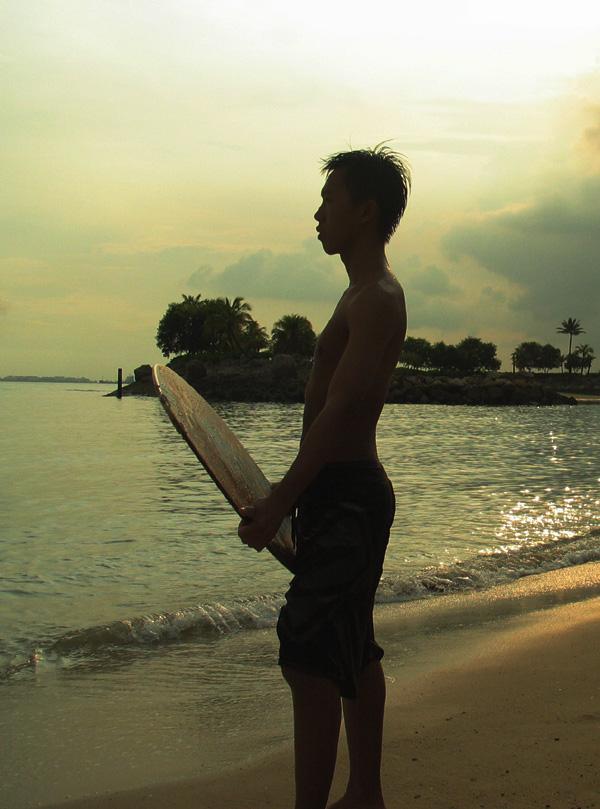 等待最美的浪花 -摇篮摄影作品 活力沙滩2图片