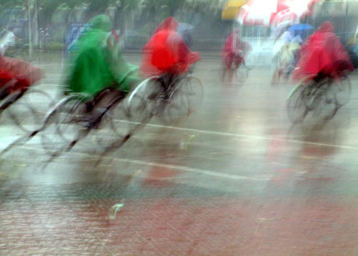 海天5858作品:雨中即景