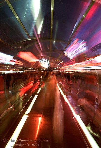若愚作品:时光隧道
