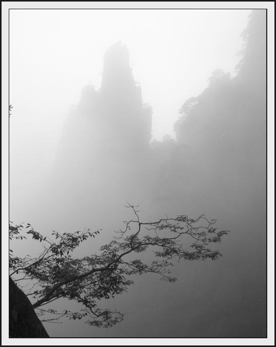 乡间浪人作品:雾漫三清山之三
