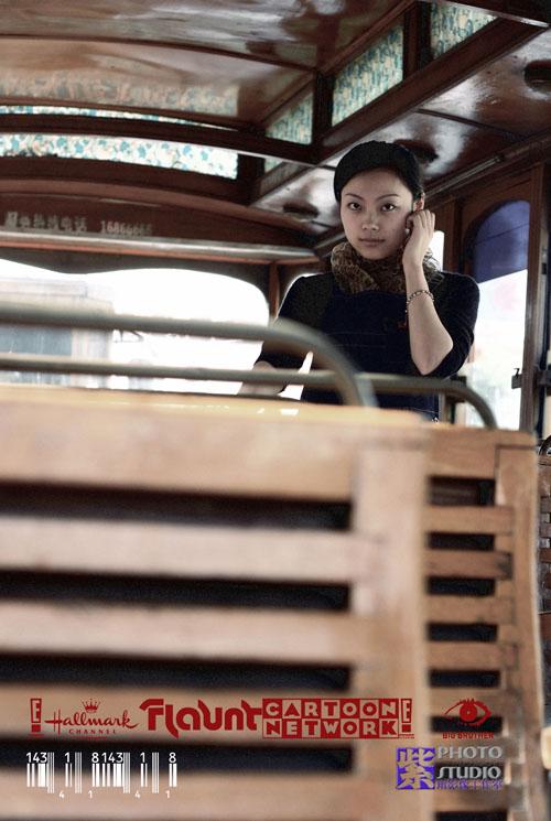 紫雨风暴作品:寂寞公车