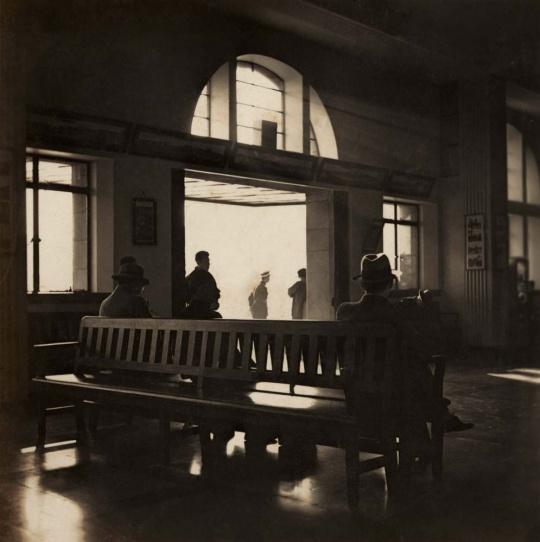 金石声作品  上海西站, 1930年代初