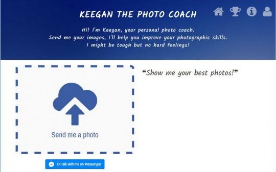 人工智能 摄影网站Keegan可自动评价照片