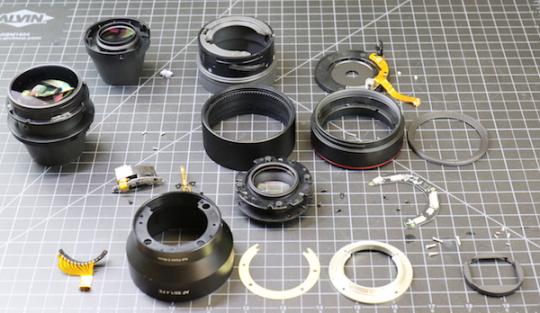 三阳自动对焦镜头做工有所提高