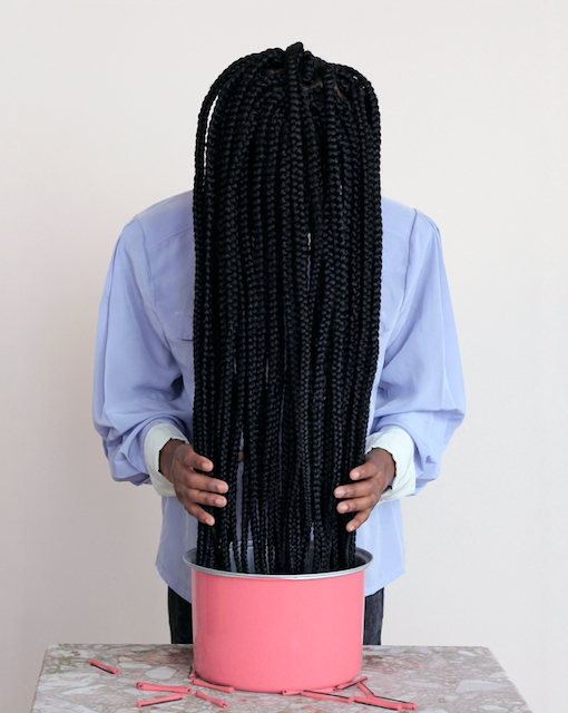 "Nakeya Brown from ""Hair Stories Untold,"" 2014"