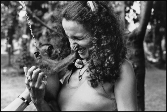 Mary Ellen Mark, date unknown (photo by Eileen Lottman)