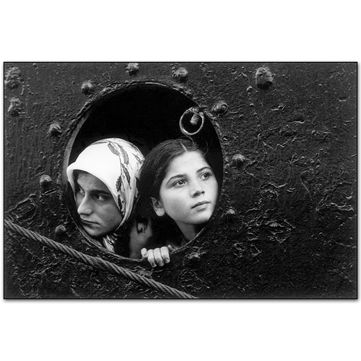 Turkish Immigrants, Istanbul,Turkey, 1965
