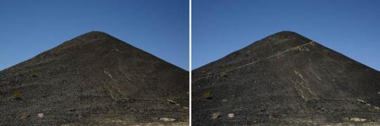 祁连山系 - 10 2015 彩色喷墨打印 单幅80 x 120cm (2幅)