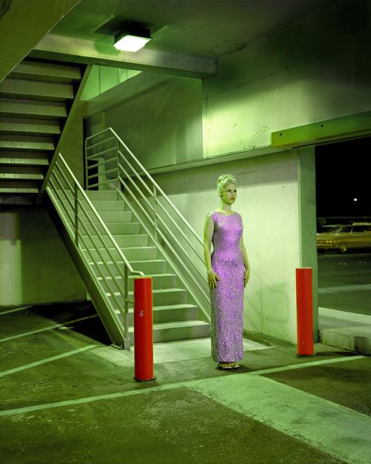 莎拉·坎普,停车场,拉斯维加斯,2001