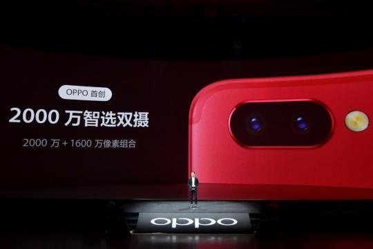 OPPO R11s搭载后置2000万智选双摄