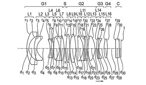 奥林巴斯12mm F 1.2专利曝光